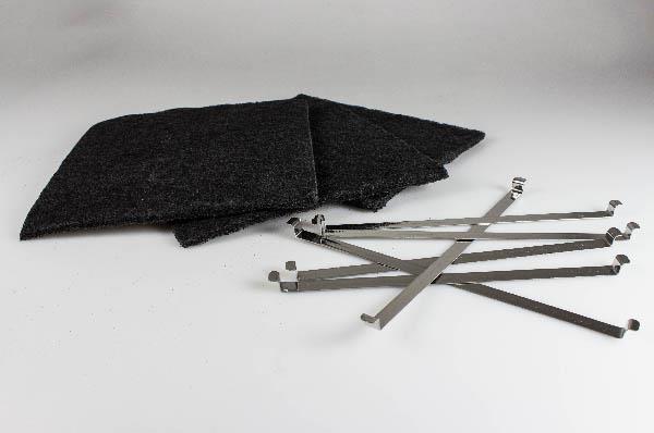 Kohlefiltern und fettfiltern für dunstabzugshauben aeg