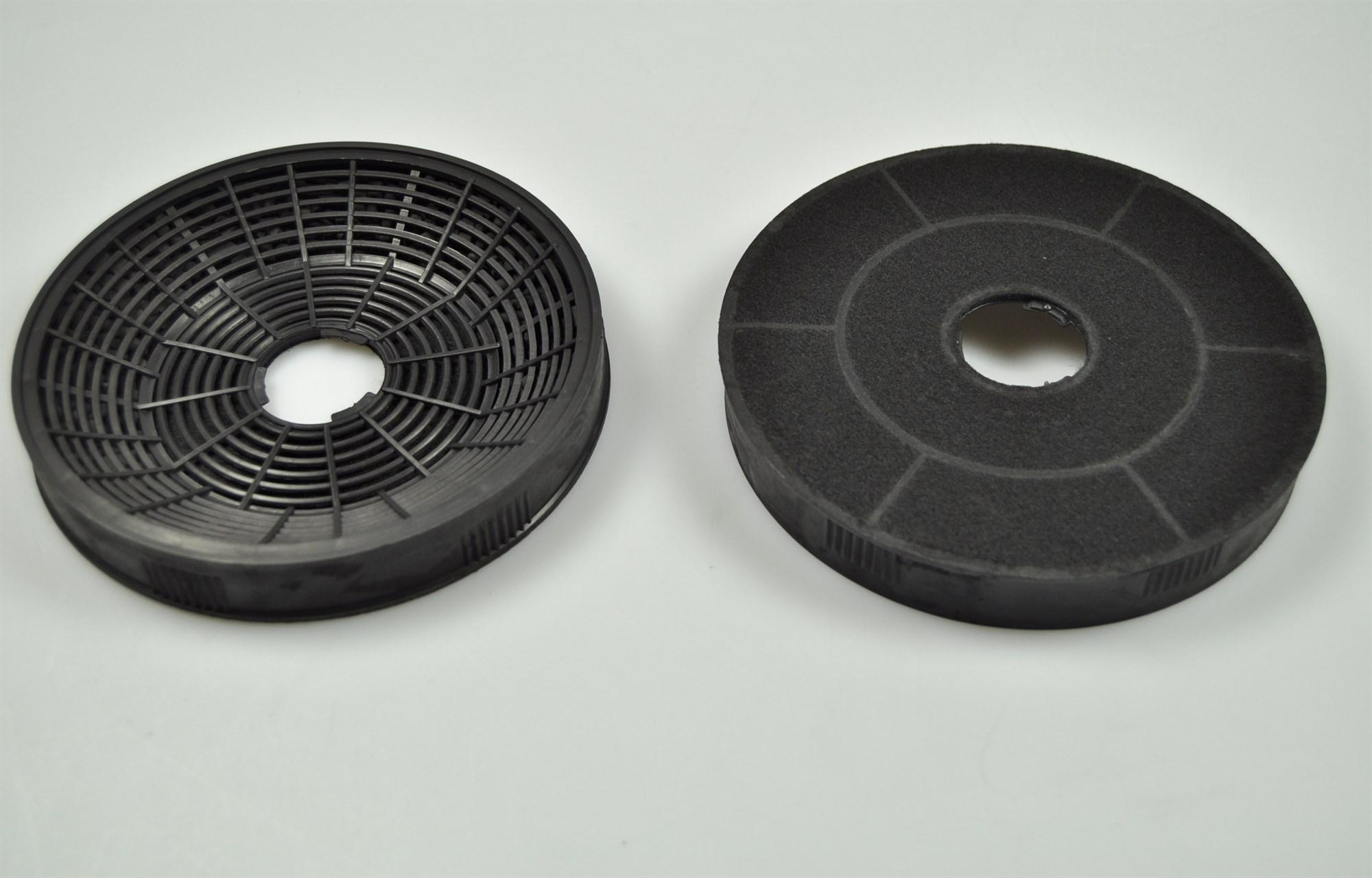kohlefilter silverline dunstabzugshaube 160 mm 2 stck. Black Bedroom Furniture Sets. Home Design Ideas