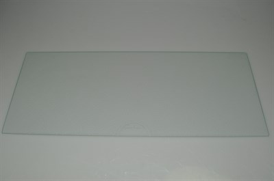 Glasplatte smeg k hl gefrierschrank 3 mm x 526 mm x for Glasplatte hinter herd